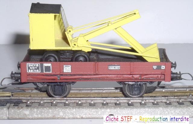 Wagons plats 2 ess maquette et semi maquette chargés par ordre alphabetique 120415070854878979722970