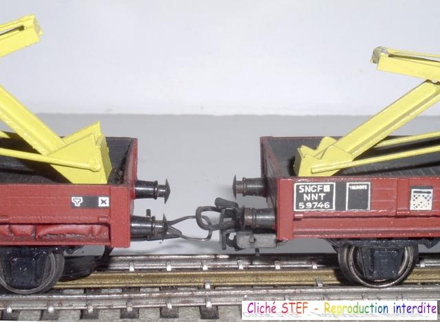 Wagons plats 2 ess maquette et semi maquette chargés par ordre alphabetique 120415070855878979722972