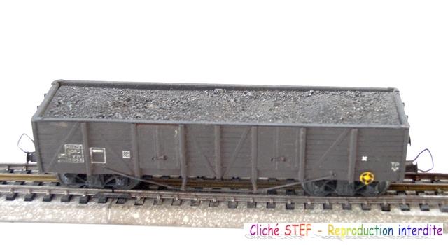VB tombereau TP bogies  maquette charbon P1011156