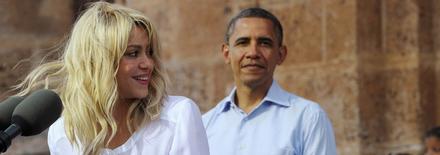 1204160627331432129727151 Shakira à la réunion bilatérale   Photos et Vidéo
