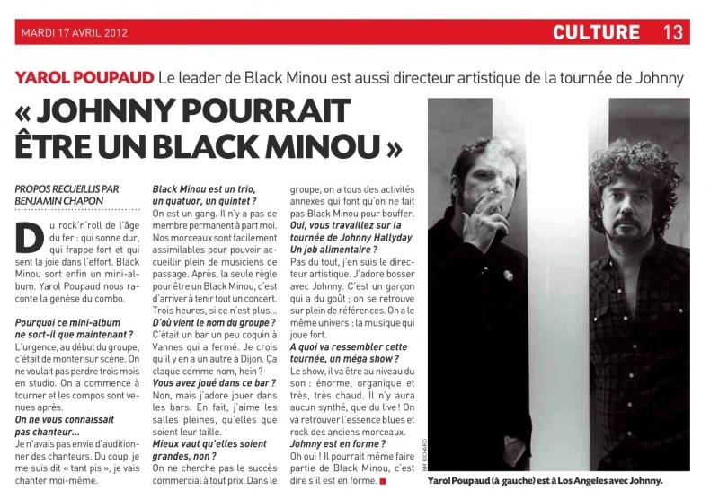 """YAROL POUPAUD parle du """"TOUR 2012"""" de JOHNNY HALLYDAY (sur Radio Campus le 22 février 2012) 1204171014461423619729665"""
