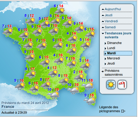 Previsions meteo france - Port barcares meteo 7 jours ...