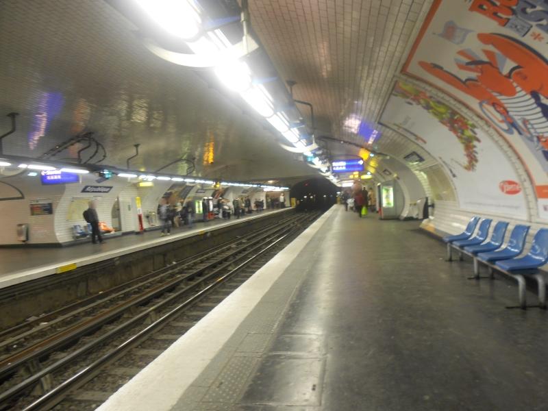 Métro République ligne 3