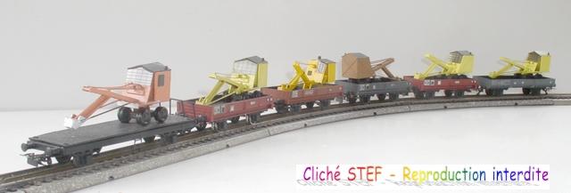 Wagons plats 2 ess maquette et semi maquette chargés par ordre alphabetique 120422011226878979751445