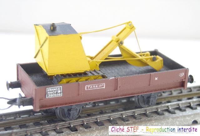 Wagons plats 2 ess maquette et semi maquette chargés par ordre alphabetique 120422020102878979751593