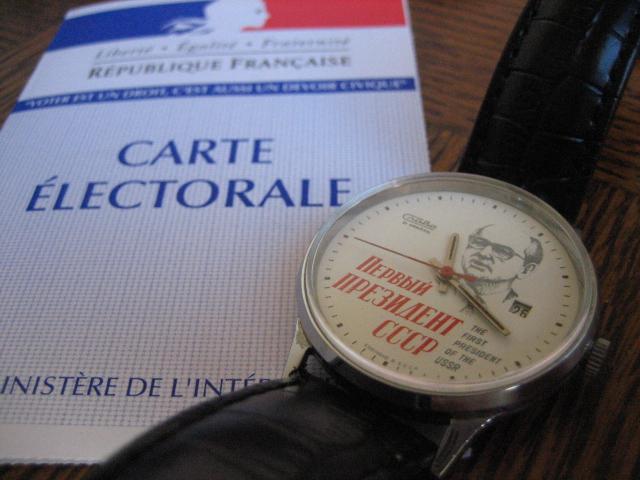 La montre des élections 2012 1204221142161277549750787