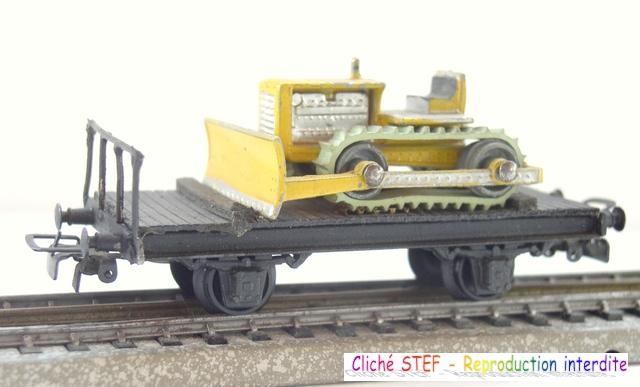 Wagons plats 2 ess maquette et semi maquette chargés par ordre alphabetique 120422115320878979754810