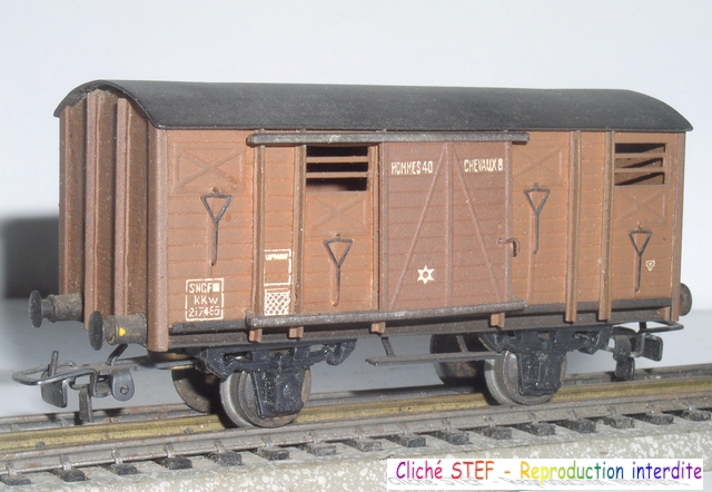 Wagons couverts 2 essieux maquette 120422121413878979749927