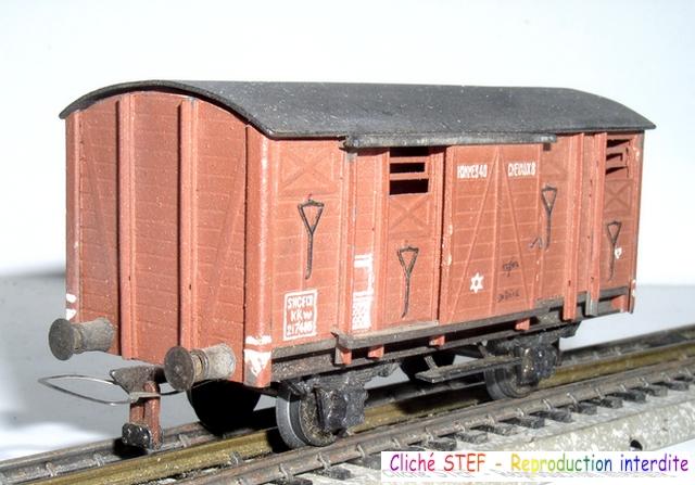 Wagons couverts 2 essieux maquette 120422121414878979749929