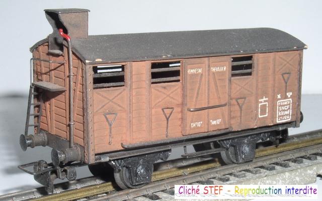 Wagons couverts 2 essieux maquette 120422121415878979749933