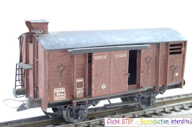 Wagons couverts 2 essieux maquette 120422121416878979749937