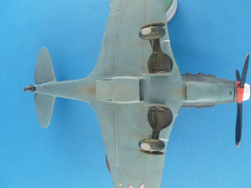 Le yak-9D de Jacques de sazint Phalle maquette au 1/48 1204231137361476839759257