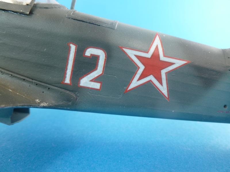 Le yak-9D de Jacques de sazint Phalle maquette au 1/48 1204231137361476839759258
