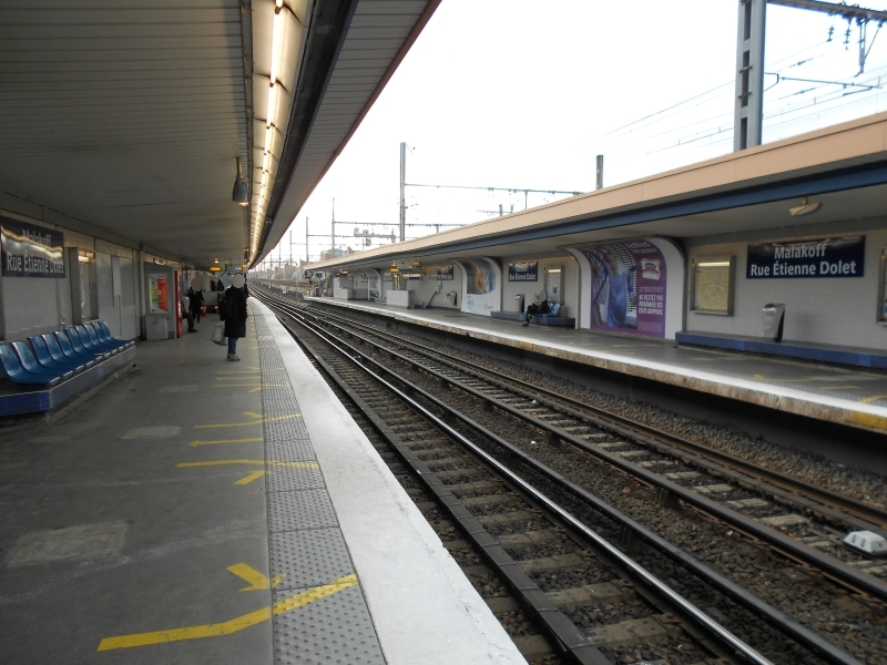 Métro Malakoff Rue Étienne Dolet ligne 13