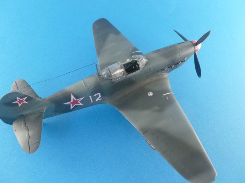 Le yak-9D de Jacques de sazint Phalle maquette au 1/48 1204241210201476839759348