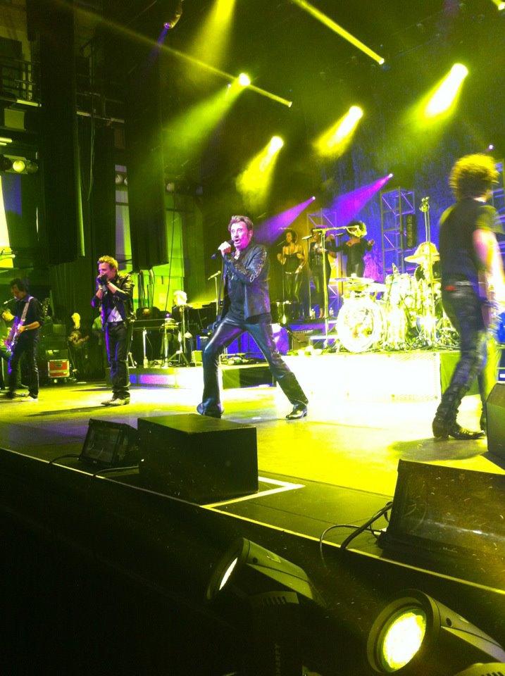 "Set list ""TOUR 2012"" JOHNNY HALLYDAY 24/04/2012 Orpheum Theatre (Los Angeles) 1204250101061423619764711"