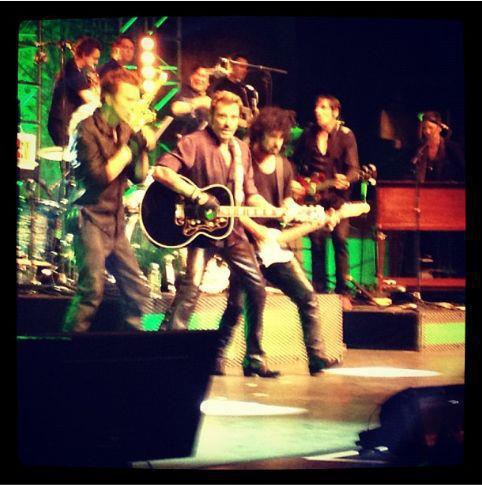 "Set list ""TOUR 2012"" JOHNNY HALLYDAY 24/04/2012 Orpheum Theatre (Los Angeles) 1204250238101423619765130"