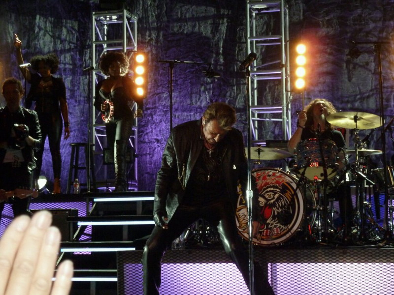 "Set list ""TOUR 2012"" JOHNNY HALLYDAY 24/04/2012 Orpheum Theatre (Los Angeles) 1204250947021423619768195"