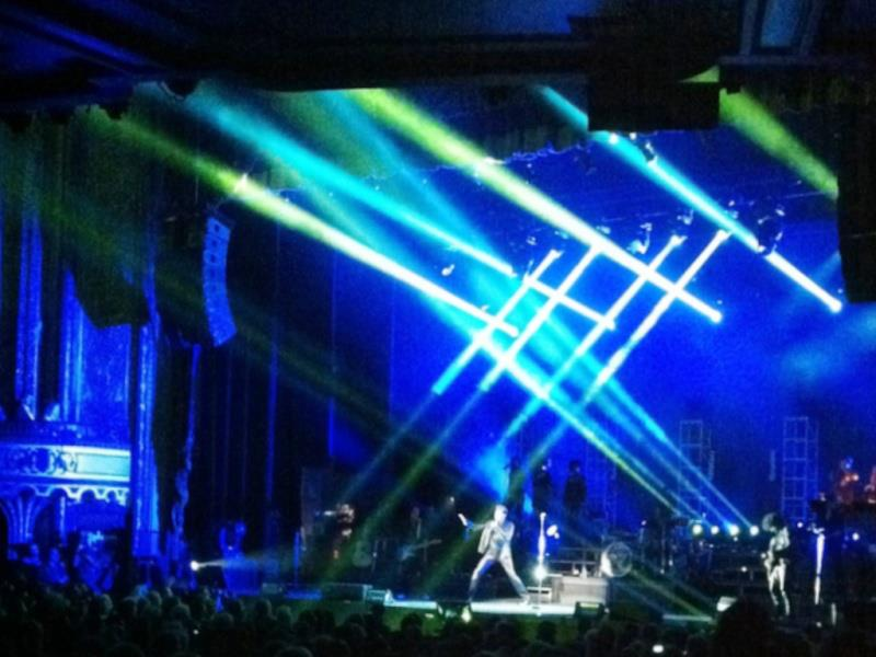 "Set list ""TOUR 2012"" JOHNNY HALLYDAY 24/04/2012 Orpheum Theatre (Los Angeles) 1204251144481423619764586"