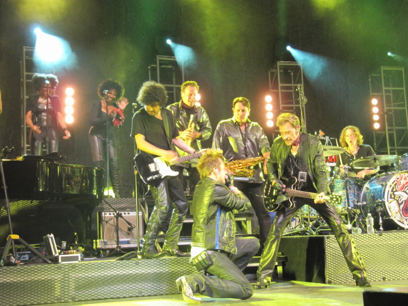 "Set list ""TOUR 2012"" JOHNNY HALLYDAY 24/04/2012 Orpheum Theatre (Los Angeles) 1204260748041423619768966"