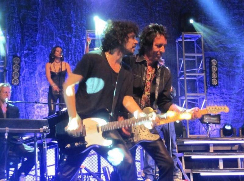 "Set list ""TOUR 2012"" JOHNNY HALLYDAY 24/04/2012 Orpheum Theatre (Los Angeles) 1204261136441423619769394"
