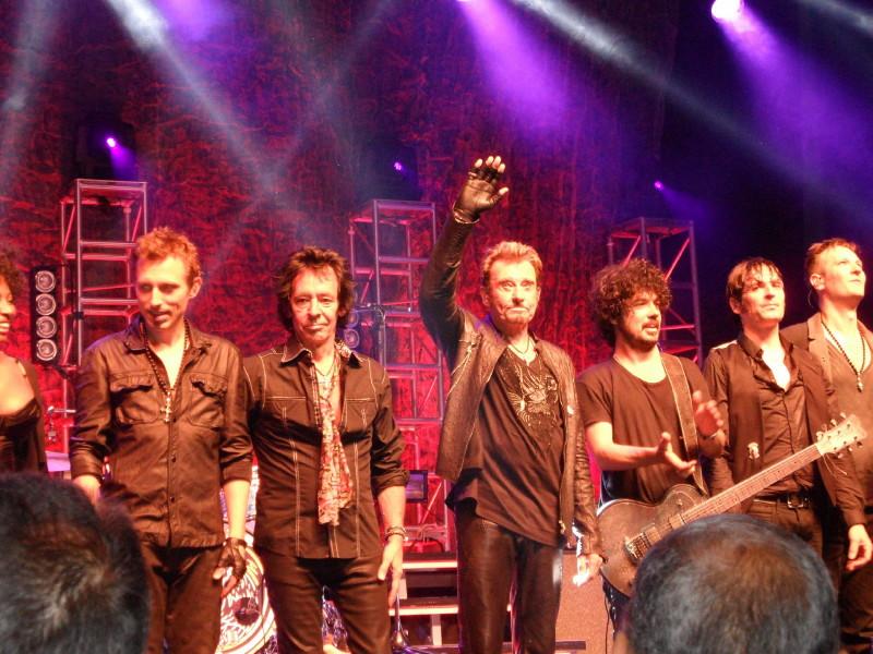 "Set list ""TOUR 2012"" JOHNNY HALLYDAY 24/04/2012 Orpheum Theatre (Los Angeles) 1204291026541423619784735"