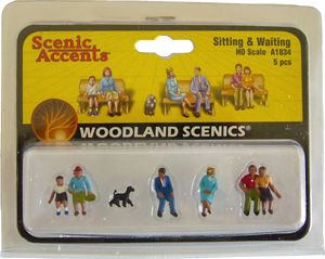 Personnages HO Woodland Scenics