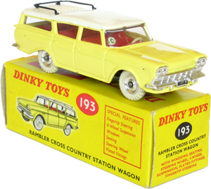 Rambler cross country station wagon Dinky-Toys