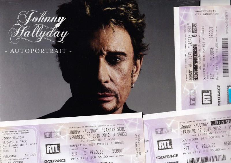 "Set list ""TOUR 2012"" JOHNNY HALLYDAY 24/04/2012 Orpheum Theatre (Los Angeles) 1205080451181423619823692"
