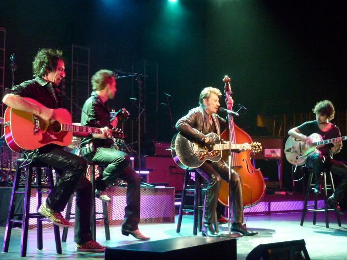 "Set list ""TOUR 2012"" JOHNNY HALLYDAY 24/04/2012 Orpheum Theatre (Los Angeles) 1205080451221423619823694"