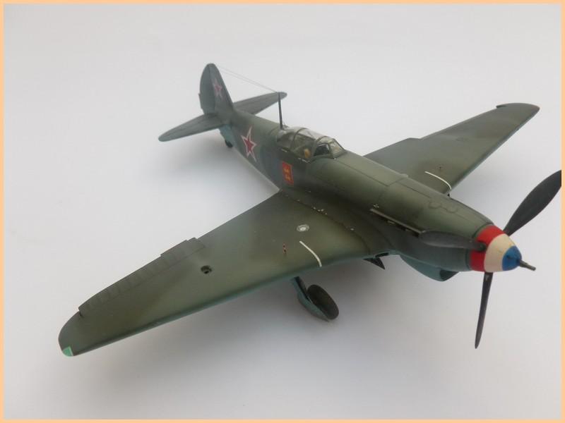 yak-9 T de pouyade; maquette ICM au 1/48 1205090834021476839830169