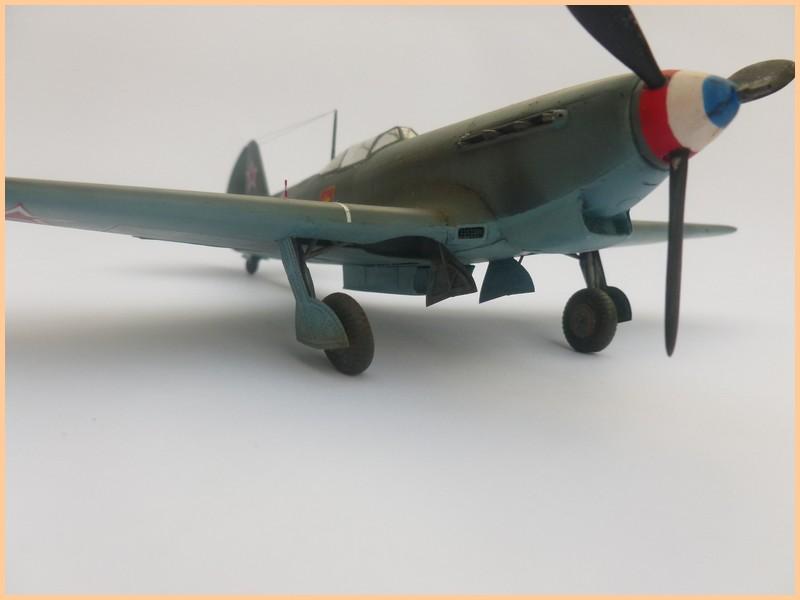 yak-9 T de pouyade; maquette ICM au 1/48 1205090834041476839830170