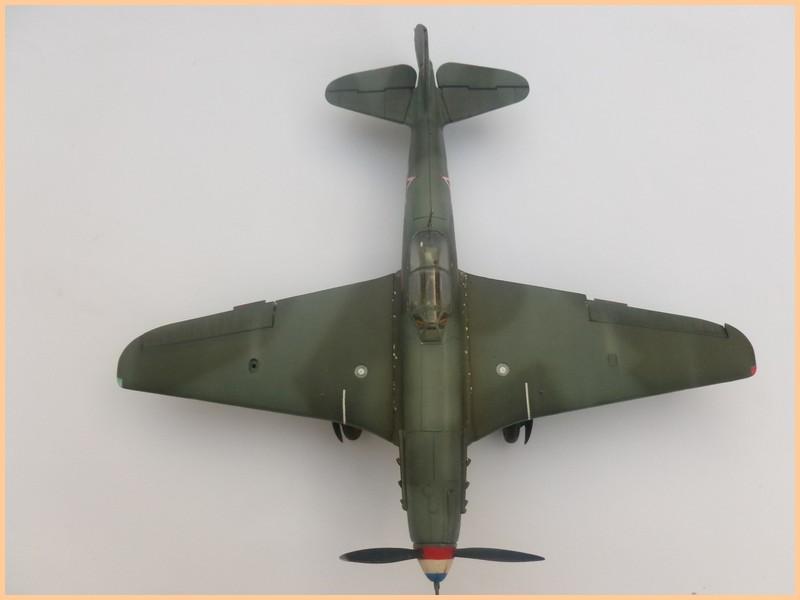 yak-9 T de pouyade; maquette ICM au 1/48 1205090834051476839830173