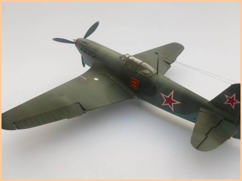 yak-9 T de pouyade; maquette ICM au 1/48 1205090834061476839830176
