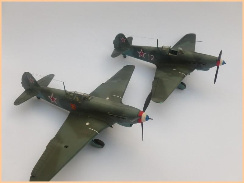 yak-9 T de pouyade; maquette ICM au 1/48 1205090834071476839830177