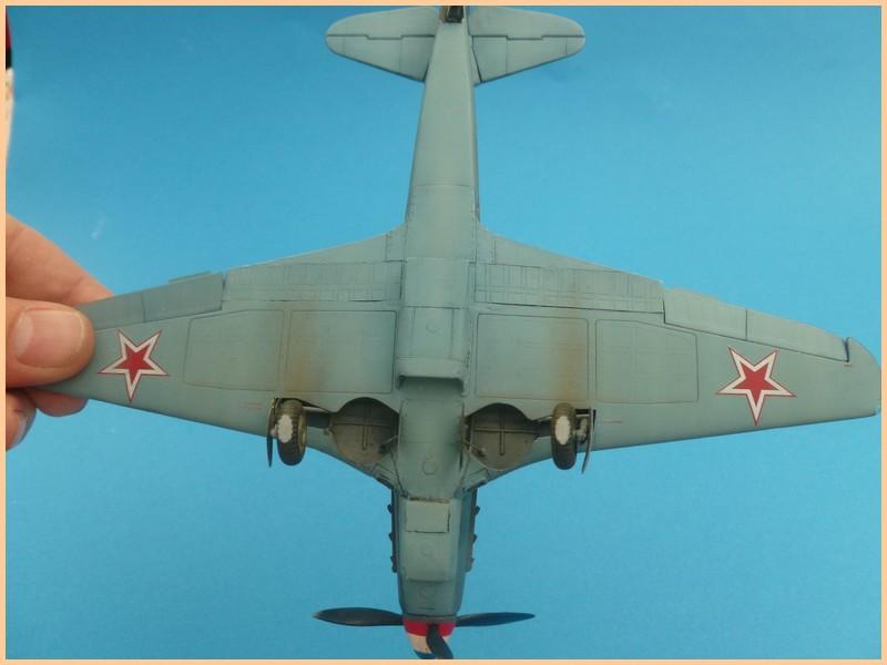 yak-9 T de pouyade; maquette ICM au 1/48 1205090834071476839830179
