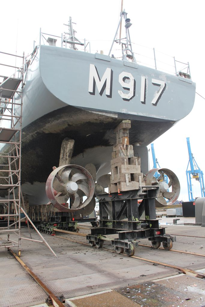 Visite à Zeebrugge, et à sa base navale 1205131243571394009845806