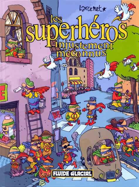 Les superhéros injustement méconnus