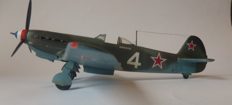 le yak-9 T de Roland de la Poype, maquette au 1/48 1205190531201476839872529