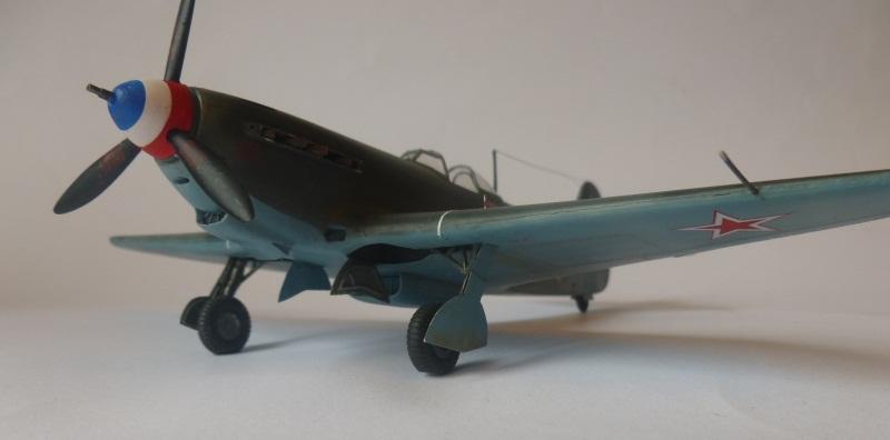 le yak-9 T de Roland de la Poype, maquette au 1/48 1205190531211476839872530