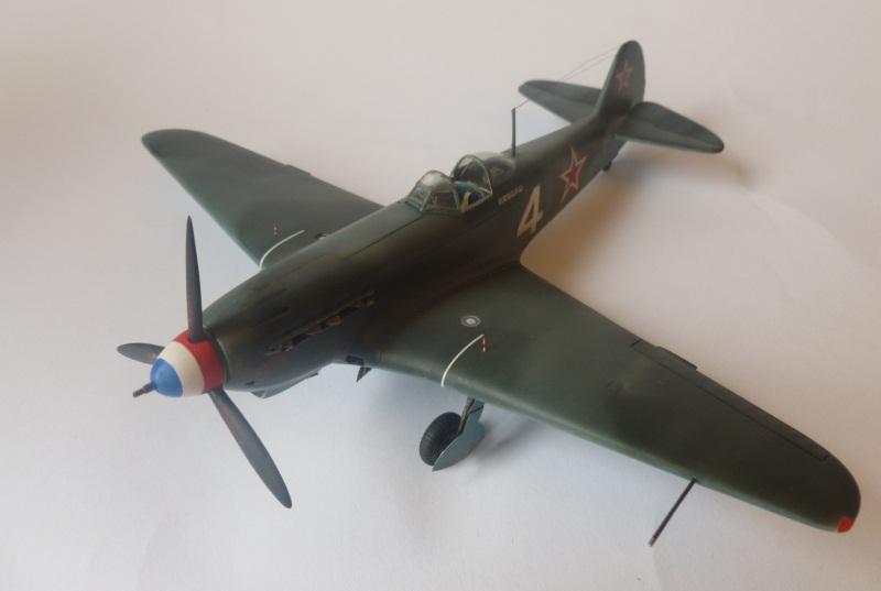 le yak-9 T de Roland de la Poype, maquette au 1/48 1205190531221476839872531