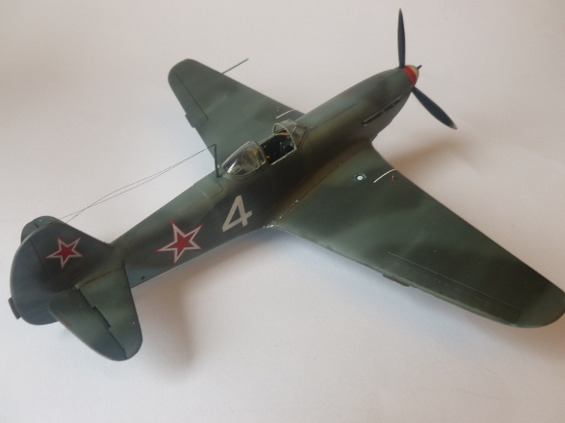 le yak-9 T de Roland de la Poype, maquette au 1/48 1205190531231476839872533