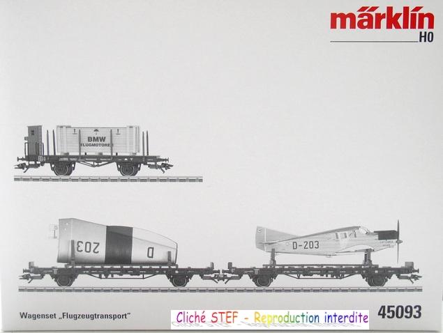 Chez Märklin 1 wagon + 1 wagon + 1 wagon = 1 avion 120525020505878979897016