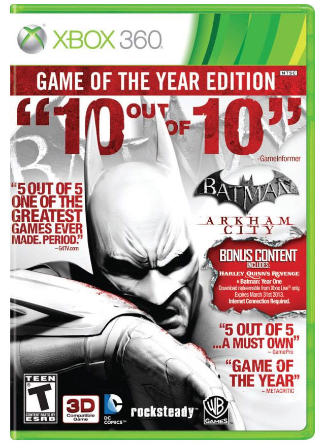 Batman Arkham City Game of the Year Edition [XGD3-RF] XBOX360-COMPLEX