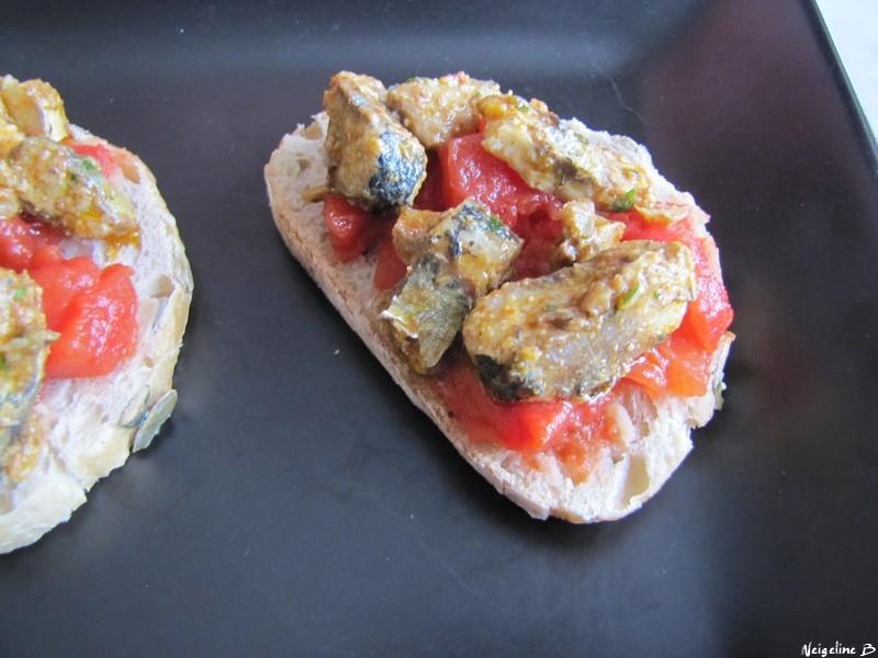 Crostini de sardines chermoula so what - Comment faire griller des sardines ...
