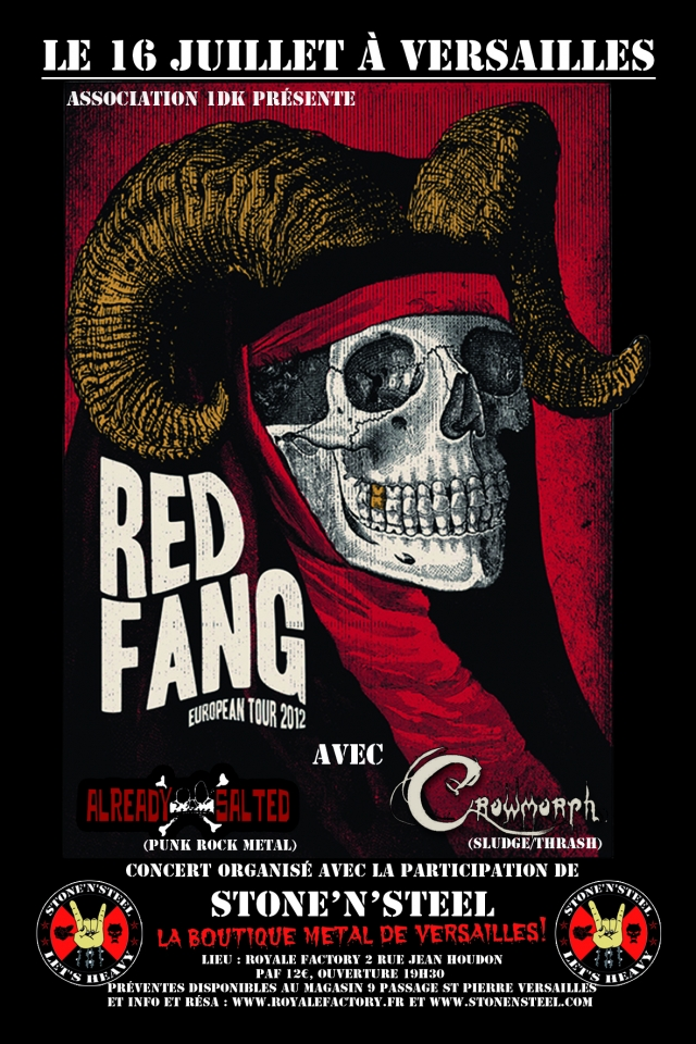 Red Fang @ Versailles