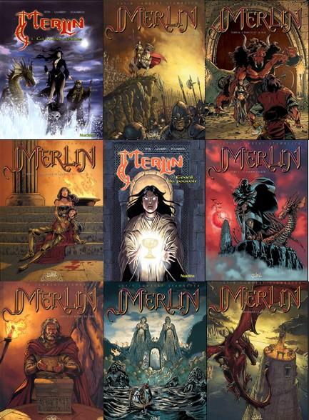 Merlin-Tomes 1 à 9