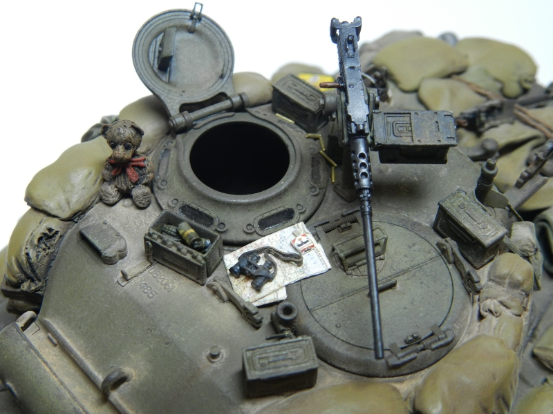 SHERMAN M4A3 (76)W 3 ARMORED DIVISION  TASCA 1/35 (1 ère version) 1206090403071506389961599