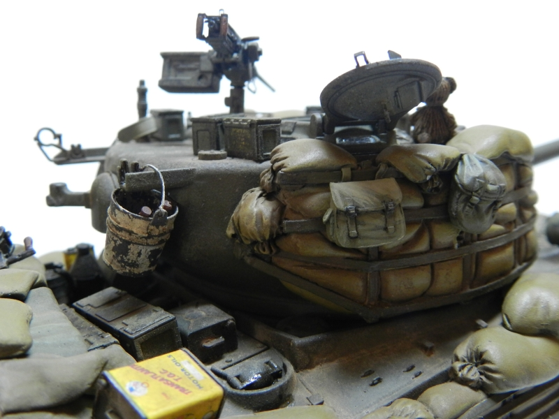 SHERMAN M4A3 (76)W 3 ARMORED DIVISION  TASCA 1/35 (1 ère version) 1206090406431506389961613
