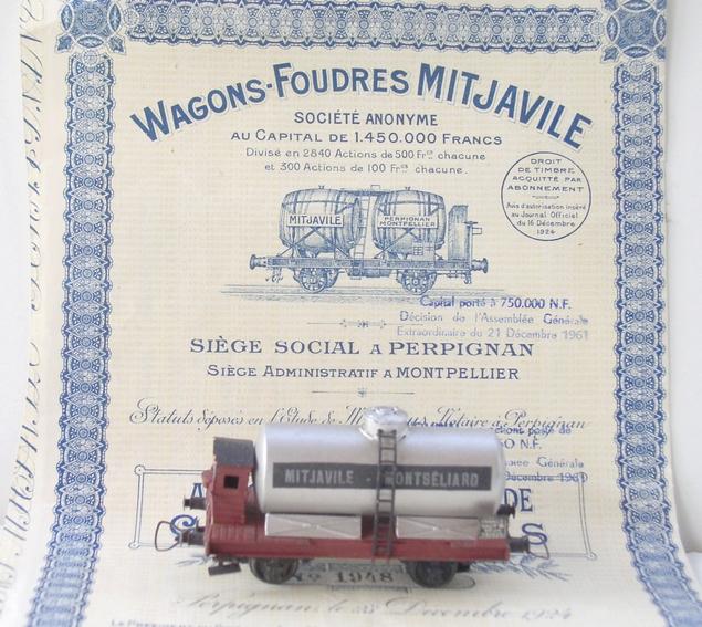 Wagons à 2 ess maquette citernes, foudres 120611030423878979970801